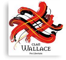 Clan Wallace  Canvas Print