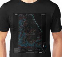 USGS TOPO Map Alaska AK Sumdum C-3 359386 2000 63360 Inverted Unisex T-Shirt