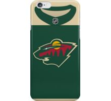 Minnesota Wild 2016 Stadium Series Jersey iPhone Case/Skin