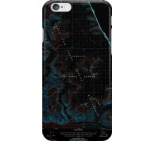 USGS TOPO Map Alaska AK Sumdum C-3 359386 2000 63360 Inverted iPhone Case/Skin
