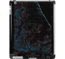 USGS TOPO Map Alaska AK Sumdum C-3 359386 2000 63360 Inverted iPad Case/Skin