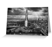 London from the Sky Garden Greeting Card