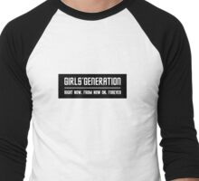 SNSD Men's Baseball ¾ T-Shirt