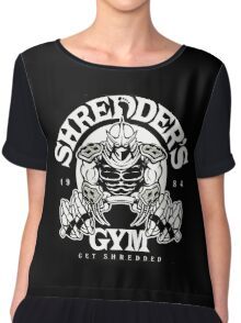 shredder's gym Chiffon Top