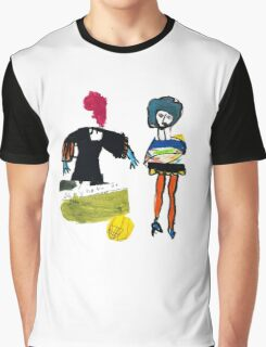 Dot and Jill.. set the fashion Graphic T-Shirt
