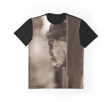 Stone Face Graphic T-Shirt