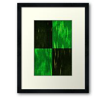Cacti abstract Framed Print