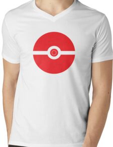 pokeball Mens V-Neck T-Shirt