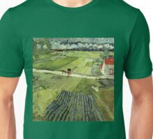 Landscape with Carriages Van Gogh Unisex T-Shirt