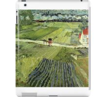 Landscape with Carriages Van Gogh iPad Case/Skin