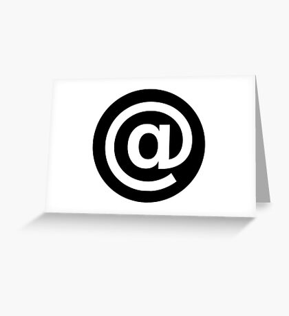 Email at Greeting Card