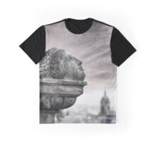 Monument Over Looking Glasgow Graphic T-Shirt
