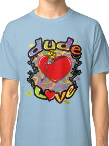 Dude Love Wrestling Classic T-Shirt