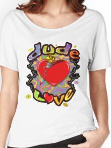 Dude Love Wrestling Women's Relaxed Fit T-Shirt