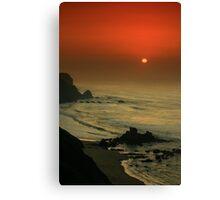 Castelejo Beach Sunset Canvas Print