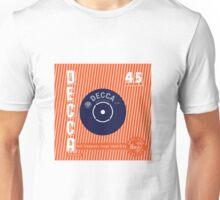 Decca Vintage Record Sleeve Vector Unisex T-Shirt