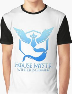 House Mystic (Game of Thrones + Pokemon GO) Special vers. Graphic T-Shirt