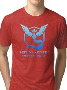 House Mystic (Game of Thrones + Pokemon GO) Special vers. Tri-blend T-Shirt