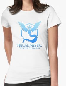 House Mystic (Game of Thrones + Pokemon GO) Special vers. Womens Fitted T-Shirt