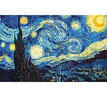 The Starry Night Vincent Van Gogh Photographic Print
