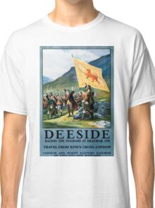 Deeside, British Travel Poster Classic T-Shirt