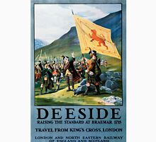 Deeside, British Travel Poster Unisex T-Shirt