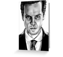 Jim Moriarty Drawing Greeting Card