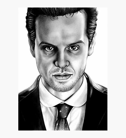 Jim Moriarty Drawing Photographic Print