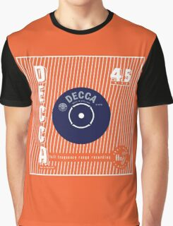 Decca Vintage Record Sleeve Vector Graphic T-Shirt