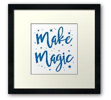 make magic Framed Print