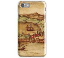 Ceuta Vintage map.Geography Spain ,city view,building,political,Lithography,historical fashion,geo design,Cartography,Country,Science,history,urban iPhone Case/Skin