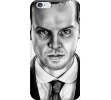 Jim Moriarty Drawing iPhone Case/Skin