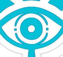 Zelda: Sheika Symbol - Clean Sticker