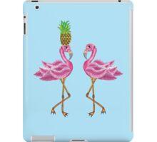 burlesque flamingos iPad Case/Skin