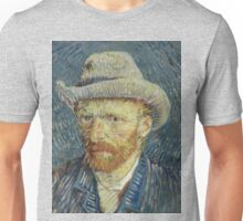 Vincent Van Gogh self portrait Unisex T-Shirt