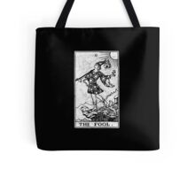 The Fool Tarot Card - Major Arcana - fortune telling - occult Tote Bag