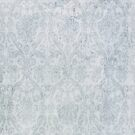 blue vintage damask by netza
