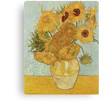 Sunflowers by Vincent Van Gogh Canvas Print