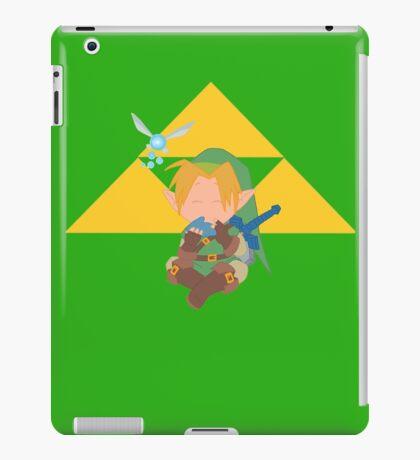 Elf Playing Ocarina with triangles  iPad Case/Skin