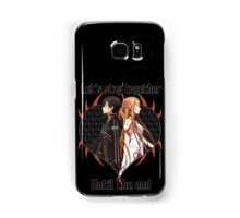 SAO Couples Design Samsung Galaxy Case/Skin