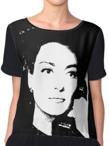 Joan Crawford Mildred Pierce 1945 Chiffon Top