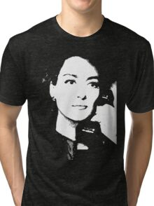 Joan Crawford Mildred Pierce 1945 Tri-blend T-Shirt