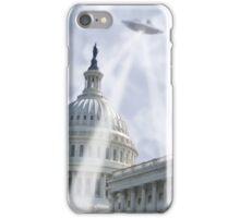 UFO Over Capital 2 iPhone Case/Skin