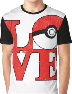 Poke-Love Graphic T-Shirt
