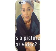 The Question Of Our Generation iPhone Case/Skin
