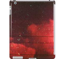 red scale clouds iPad Case/Skin