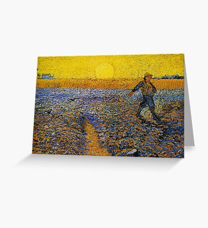Vincent Van Gogh painting Greeting Card