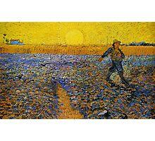 Vincent Van Gogh painting Photographic Print