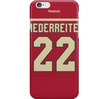 Minnesota Wild Nino Niederreiter Jersey Back Phone Case iPhone Case/Skin