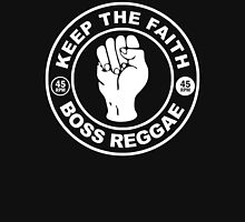 "KEEP THE FAITH BOSS REGGAE "" 45 RPM "" Womens Fitted T-Shirt"
